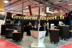 Import Rigging Stand at Nautic 2020