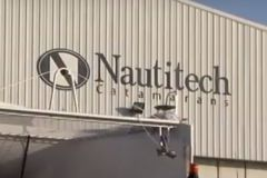 Entrance to the Nautitech shipyard
