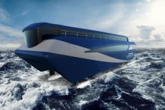 Image of the Artemis Technologies Foil Ferry Project