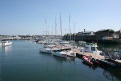 Marina of Concarneau