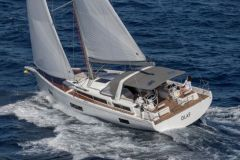 The Oceanis Yacht 54 is part of the Bénéteau Group's high-end boat strategy