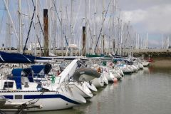 Port des Minimes in La Rochelle