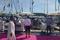 Visitors to the Cannes Yachting Festival