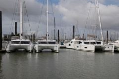 The port of La Rochelle regularly welcomes boats ready for delivery from neo-aquatic shipyards