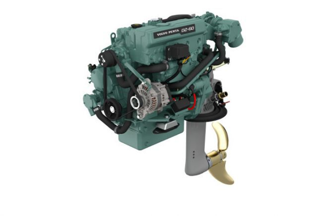 Volvo Penta D2-60 inboard engine