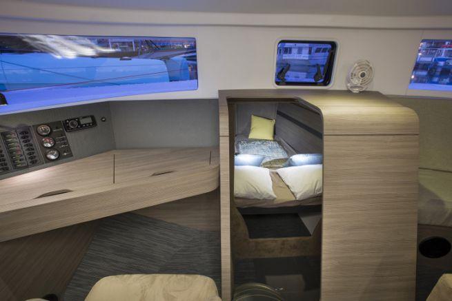 Malvaux Marine's boat interior