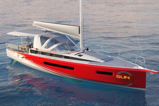 New Sun Loft 47 by Jeanneau for cabin boat rental