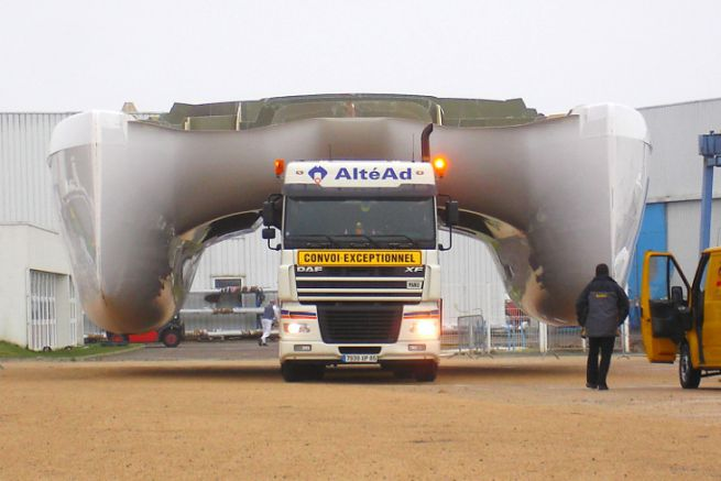 Altead specializes in exceptional transport for water sports