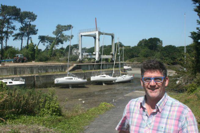Serge Calvez, founder of the Tide High site