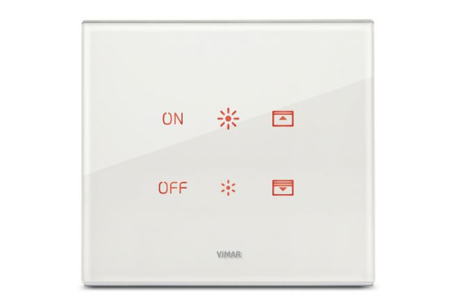 Eikon Tactil switch from Vimar