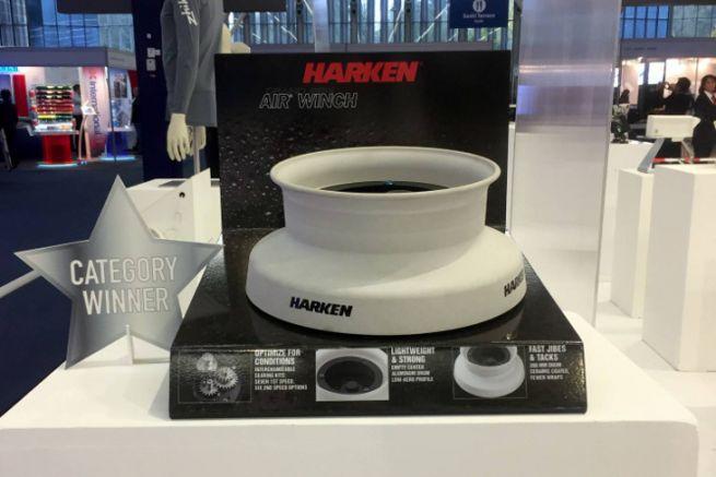 Air Winch from Harken, winner of the DAME Design Award