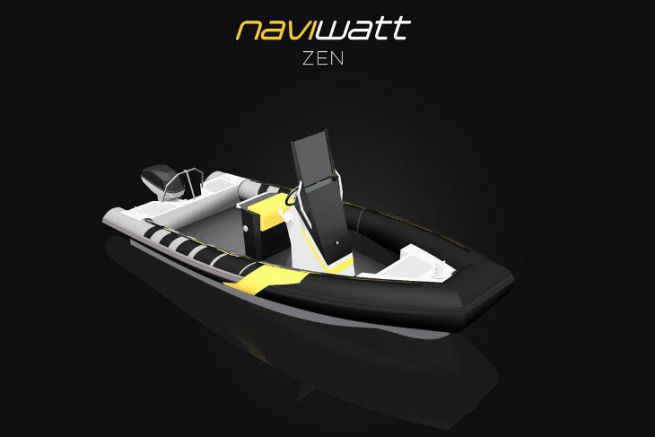 Net-zen by Naviwatt, winner of the concept award at the electric boat of the year competition