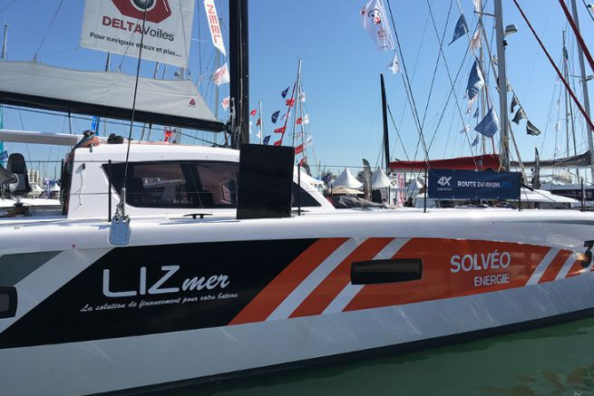 Leasing companies are major players in the boating industry, such as Lizmer, sponsor of a catamaran in the Route du Rhum