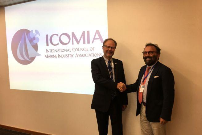 Jouko Huju gives way to Andrea Razeto at the head of ICOMIA