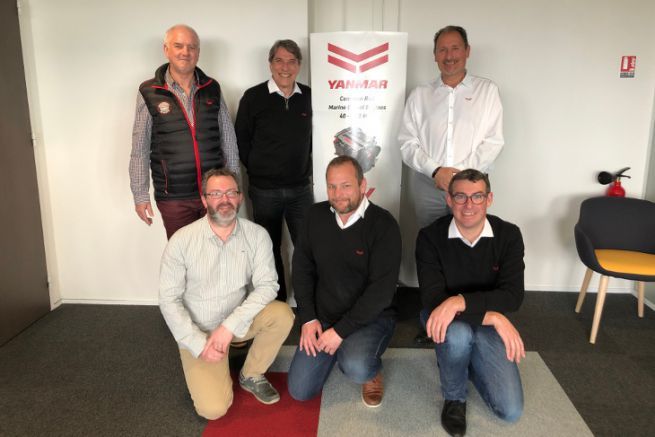 The new team of the marine engine manufacturer Yanmar