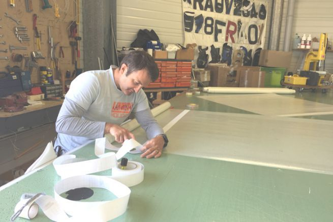Fred Moreau, new partner of the All Purpose sailmaker