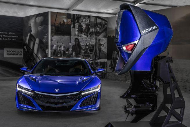 Honda Marine Engine Concept