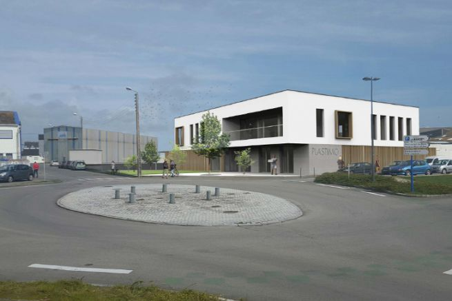 Image of Plastimo's future headquarters in Lorient
