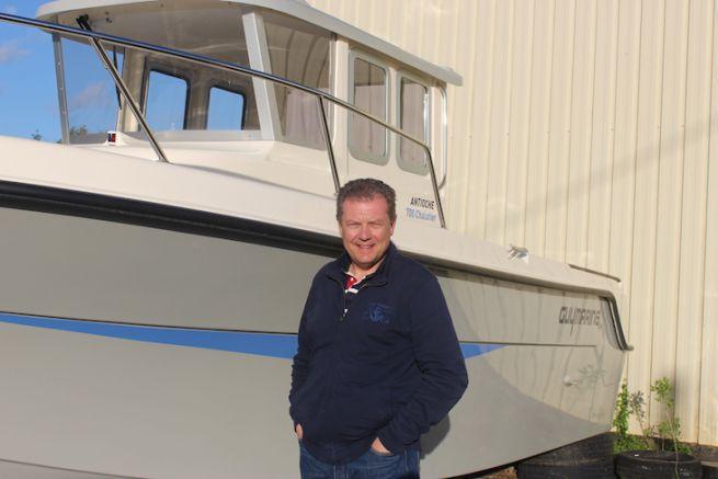 Nicolas Chiloff, director of the White Shark and Guymarine brands