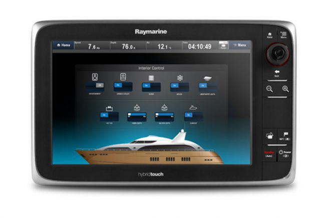 Raymarine multifunction interface using EmpirBus technologies