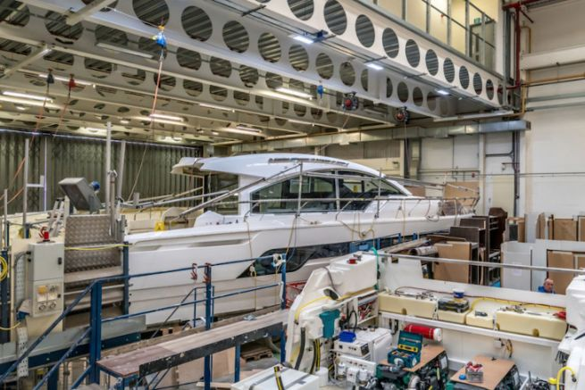 Fairline Yachts Factory in Oundle