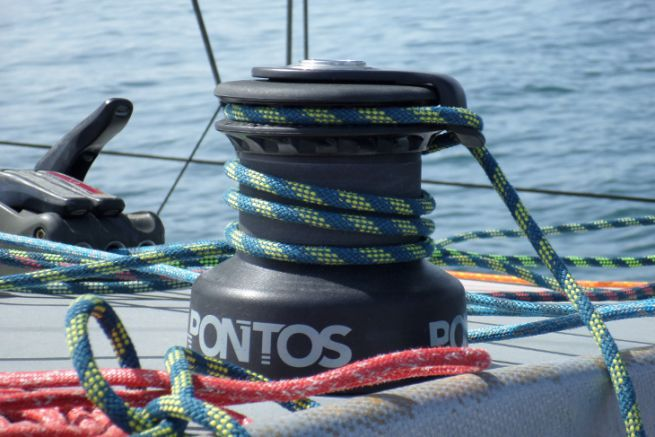 The Pontos winches, bought by Karver