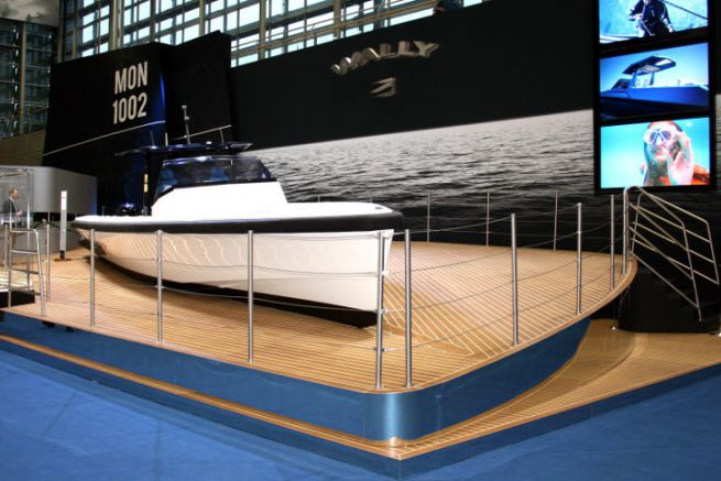 Wally at the Boot 2019 when he joined the Ferretti group