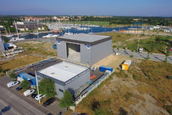 Sailing Atlantic Services boat preparation site in Canet-en-Roussillon