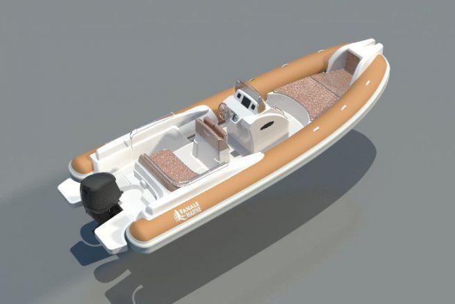 New semi-rigid Fanale Marine from U Fanale