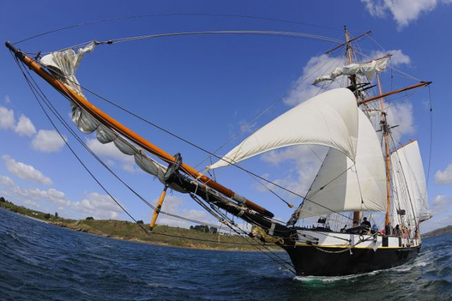 La Recouvrance, sailboat from Brittany