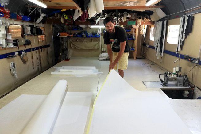 Tom Bernard, takeover of Jacana sailmaker