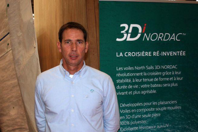 Greg Evrard, director of North Sails France