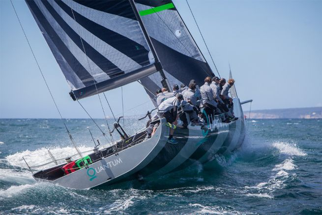 The Quantum sailmaker is present in the high level sail