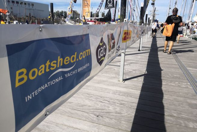 Boatshed Boat Broker is involved in the French market by sponsoring the Golden Globe Race