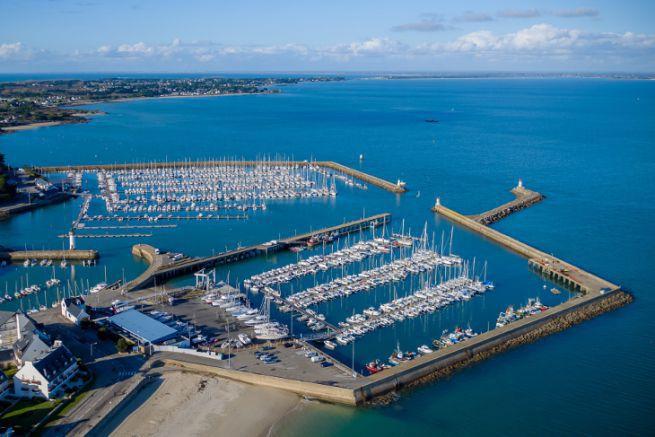 Port Haliguen, marina of Brittany