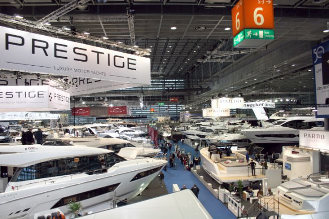 Superyacht Pavilion at Boot Dusseldorf