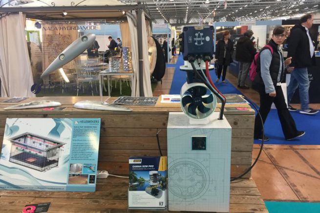 Seatec is a trade show reserved for yachting professionals