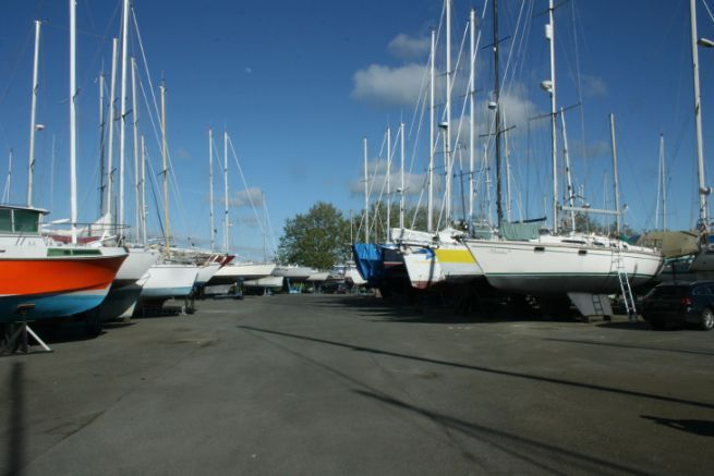 Winterized boats