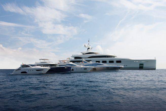 Yachts of Azimut Benetti Group