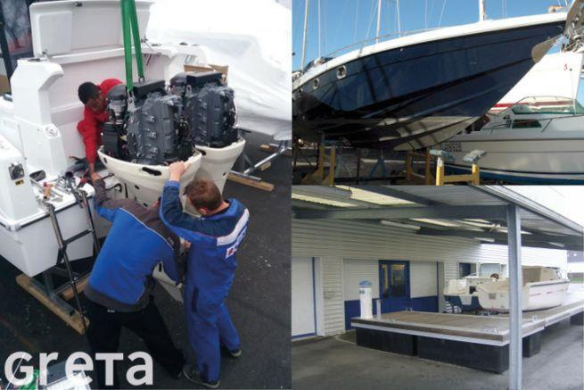 Boat maintenance training at Greta Bretagne Sud
