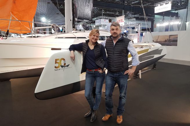 Charlotte and Julien Binard, the new French importers Dragonfly