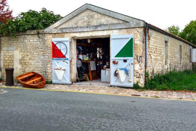 Echo Nautique shop in Rochefort