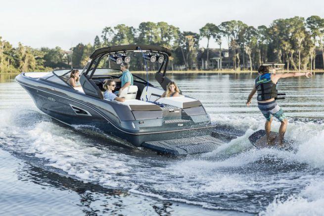 Pleasure boats of the American brand Sea Ray